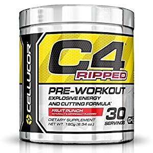 Top 10 Amazon Fat Burner Weight Loss Supplements: Cellucor C4 Ripped Pre Workout Thermogenic Fat Burner