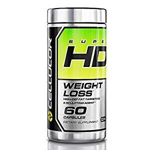 Top 10 Amazon Best Appetite Control And Supplements Weight Loss Pills: Cellucor Super HD Thermogenic Fat Burner Supplement