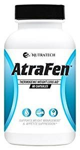 Top 10 Amazon Best Appetite Control And Supplements Weight Loss Pills: Nutratech Atrafen Powerful Fat Burner
