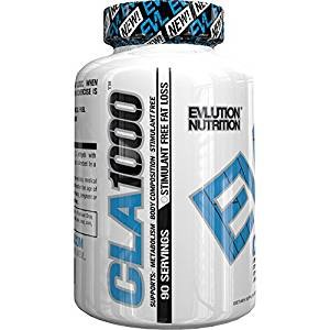 Top 10 Amazon CLA Weight Loss Supplements evlution nutrition cla 1000
