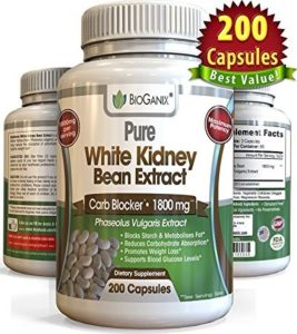 Top 10 Amazon Carbohydrate Blocker Weight Loss Supplements bioganix white kidney bean extract