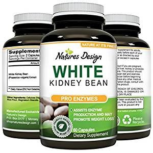 Top 10 Amazon Carbohydrate Blocker Weight Loss Supplements nature's design white kidney bean extract