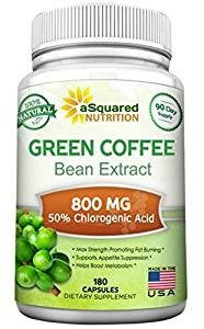 Top 10 Amazon Green Coffee Bean Extract Weight Loss Supplements asquared nutrition green coffee bean extract