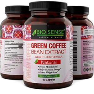 Top 10 Amazon Green Coffee Bean Extract Weight Loss Supplements bio sense greeen coffee bean extract