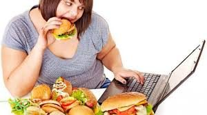 WHAT ARE THE CAUSES OF WEIGHT GAIN AND OBESITY- over-eating healthy foods