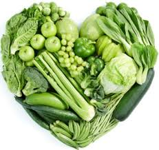 BEST FAT-BURNING FOODS - green leafy vegetables