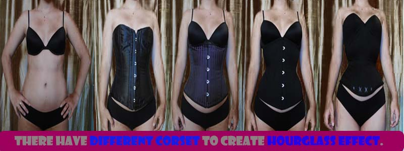 before and after waist corset shaping example 4