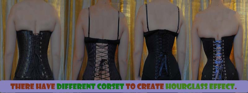 before and after waist corset shaping example 5