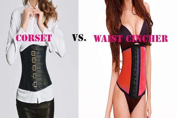 corset vs waist cinchers