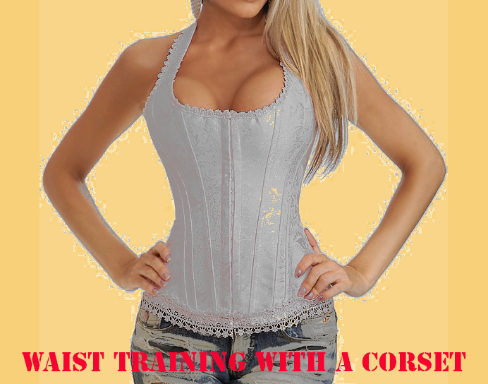 waist training with a corset