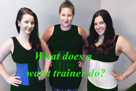 what does a waist trainer do actually