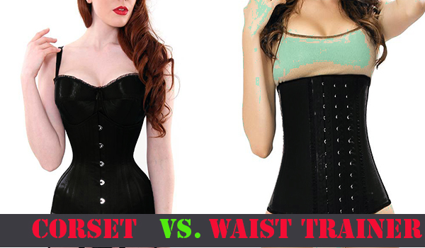 what is different between corset and waist trainer